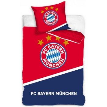 Bavlněné povlečení FC Bayern Mnichov - Blau Boden