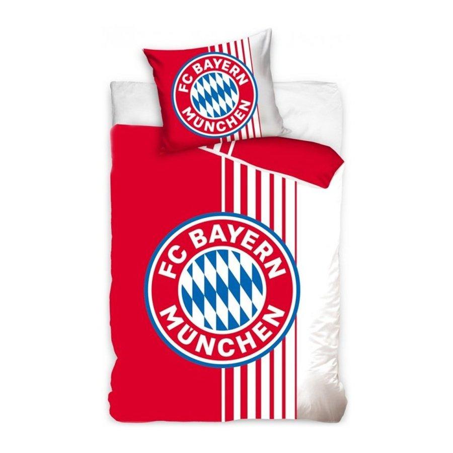 Bavlněné povlečení FC Bayern Mnichov - Rote Streife