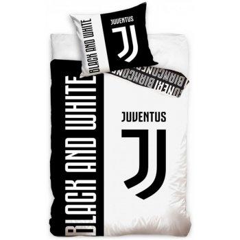 Bavlněné ložní povlečení Juventus FC - Black and White