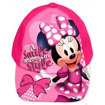 Kšiltovka Mnnie Mouse - Disney - růžová