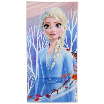 Bavlněná plážová osuška Ledové království - Elsa