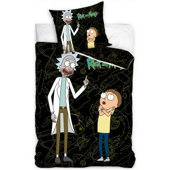 Bavlněné ložní povlečení Rick and Morty