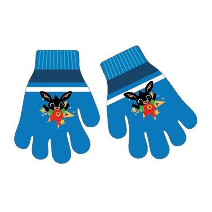 Dětské pletené prstové rukavice Zajíček Bing