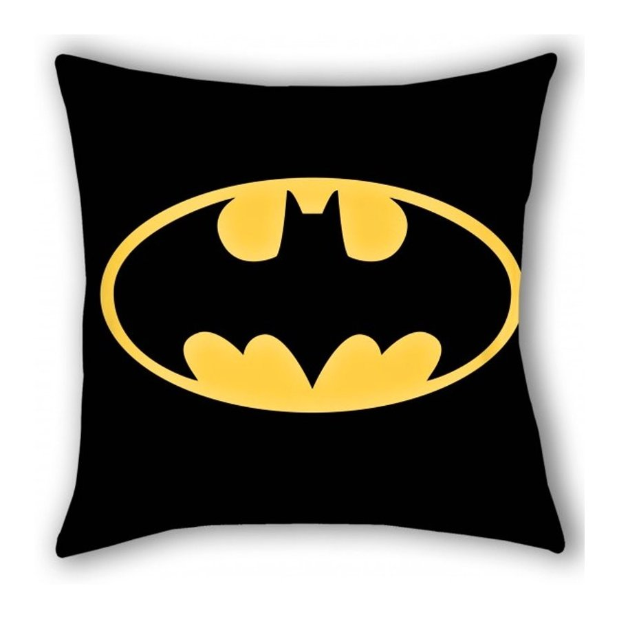 Halantex · Povlak na polštářek Batman - Certifikát Oeko-Tex Standard 100 - 40 x 40 cm