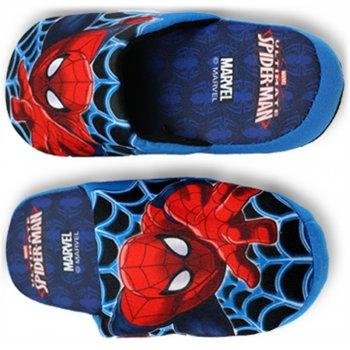 Chlapecké pantofle Spiderman - modré