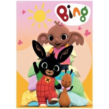 Dětská fleecová deka Zajíček Bing Bunny