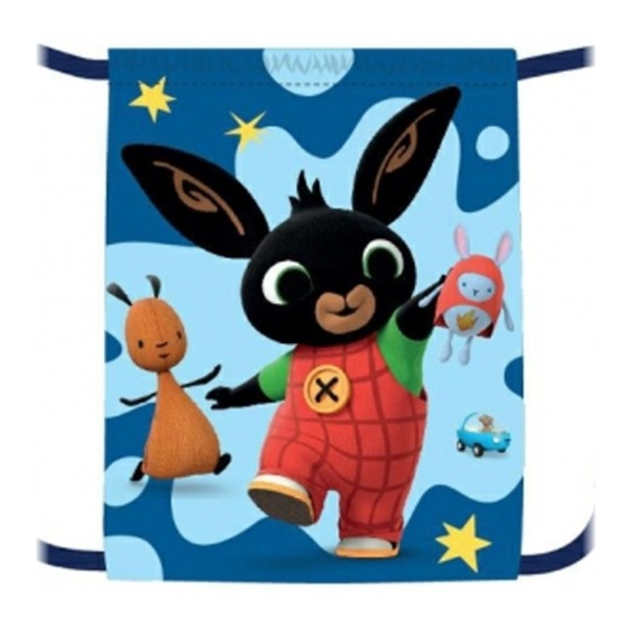 Sáček na přezůvky Zajíček Bing Bunny - modrý