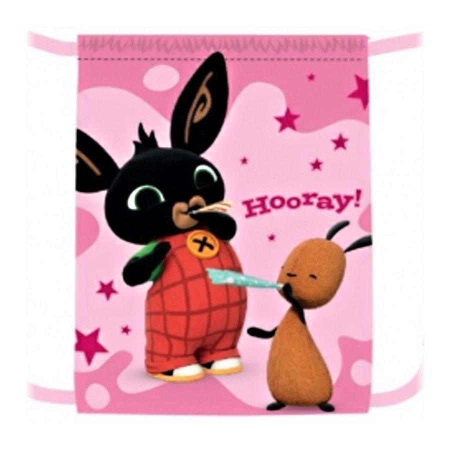 Sáček na přezůvky Zajíček Bing Bunny - růžový