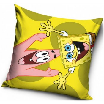 Povlak na polštář SpongeBob a Patrick