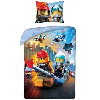 Bavlněné ložní povlečení LEGO City - záchranáři