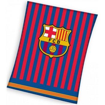 Velká fleecová deka FC Barcelona - Clean