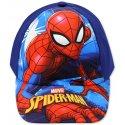 Dětská kšiltovka Spiderman - modrá