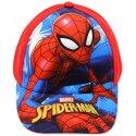 Dětská kšiltovka Spiderman - červená