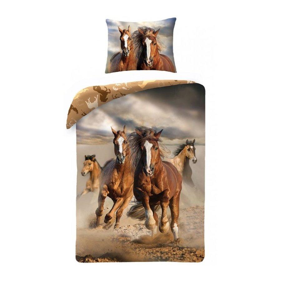 Bavlněné ložní povlečení Koně