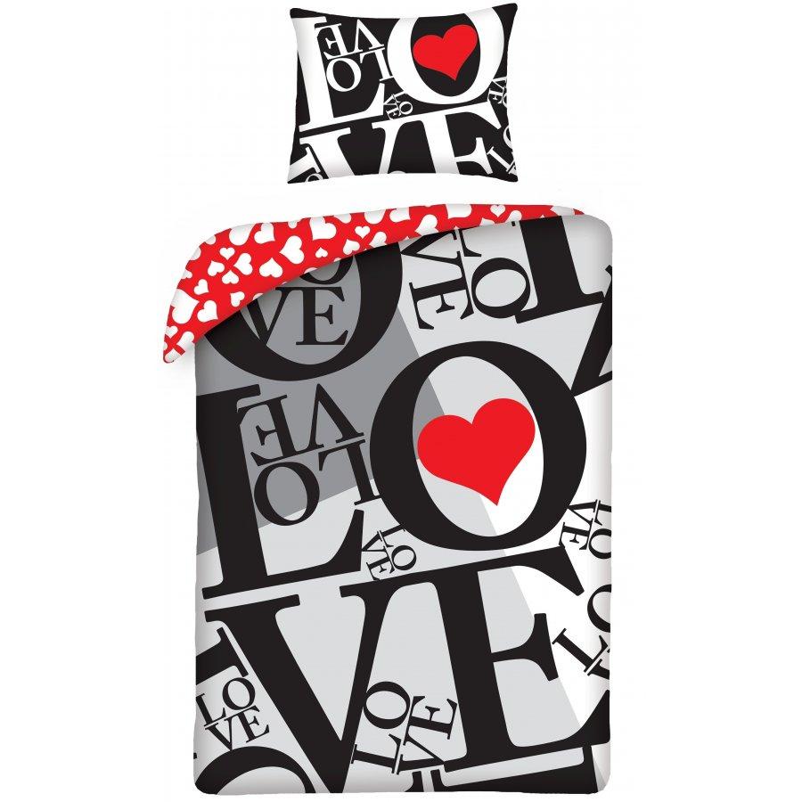 Bavlněné ložní povlečení ♡ LOVE