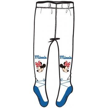 Dívčí punčocháče Minnie Mouse - bílo / modré