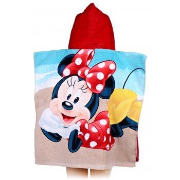 Pončo - osuška s kapucí Minnie Mouse - Disney