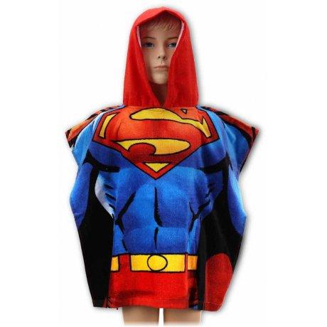 Pončo - osuška s kapucí Superman