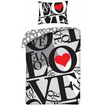 Bavlněné ložní povlečení ❤ LOVE ❤