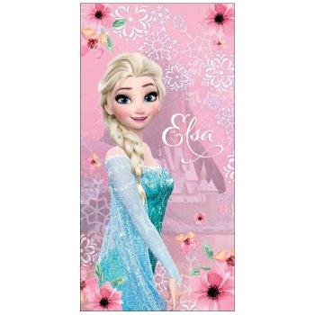 Plážová osuška Ledové království - Frozen - Elsa