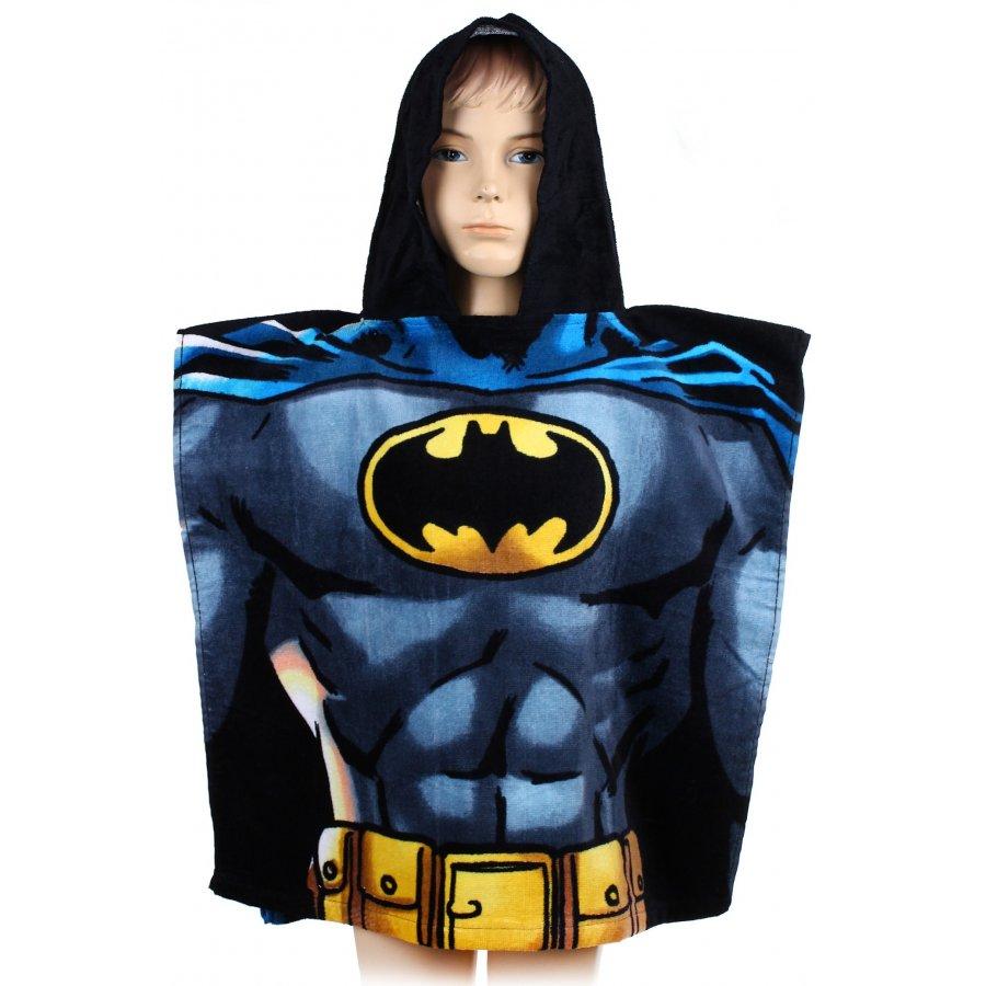 Pončo - osuška s kapucí Batman