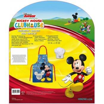 Dětská zástěra s kuchařskou čepicí Mickey Mouse - Disney
