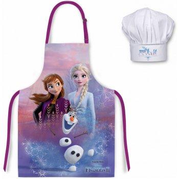 Dětská zástěra s kuchařskou čepicí Ledové království - Frozen