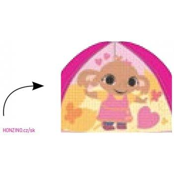 Dětská kšiltovka Zajíček Bing  s překlápěcími flitry