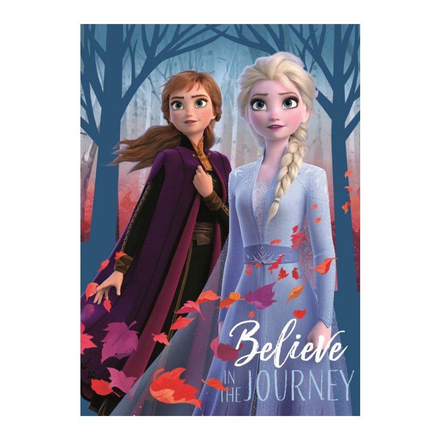 Fleecová deka Ledové království 2 - Belive in The journey