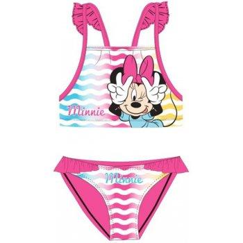 Dívčí dvoudílné plavky Minnie Mouse - Disney - růžové