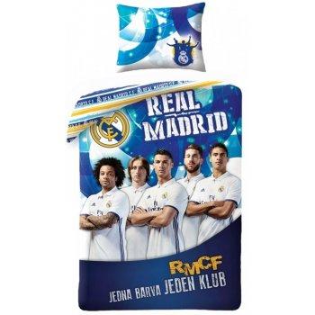 Bavlněné povlečení Real Madrid - jedna barva jeden klub