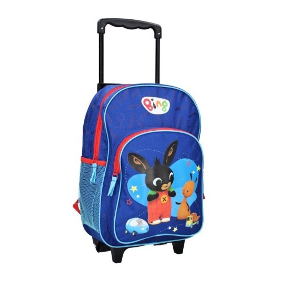 Vadobag · Dětský cestovní kufr / taška na kolečkách / trolley Zajíček Bing - 17l