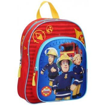 Dětský batoh s přední kapsou Požárník Sam