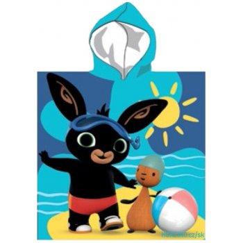 Chlapecké pončo - osuška s kapucí Zajíček Bing