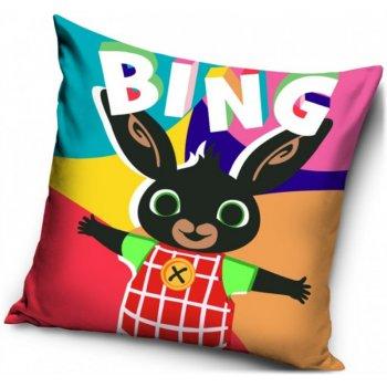 Pestrobarevný povlak na polštář Zajíček Bing