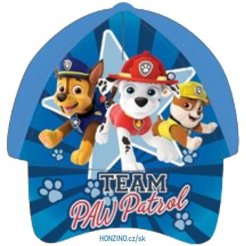 Chlapecká kšiltovka Team Paw Patrol (2 barevné varianty)