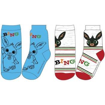 Chlapecké ponožky Zajíček Bing (2 páry)