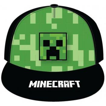Hip Hop kšiltovka s rovným kšiltem Minecraft