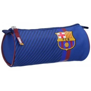 Kulaté pouzdro na tužky FC Barcelona - Barca