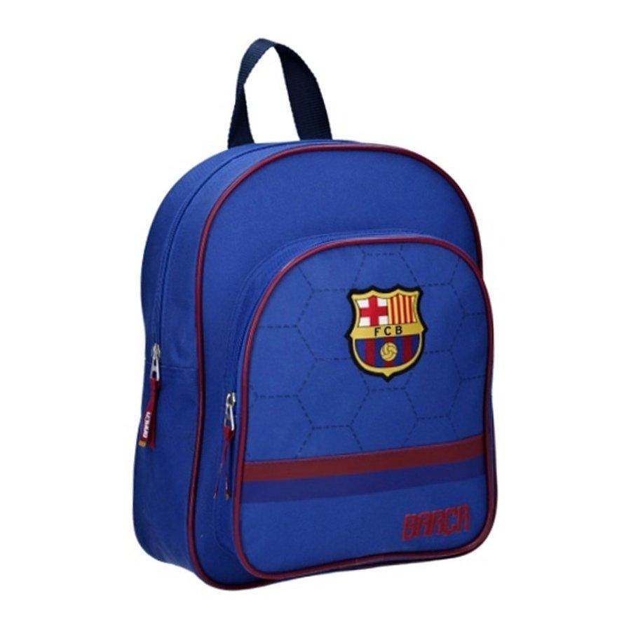 Vadobag · Dětský fotbalový batoh s přední kapsou FC Barcelona z kolekce Dream Team - 7l