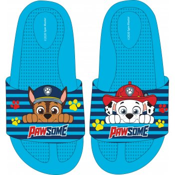 Chlapecké gumové pantofle Tlapková patrola - Chase a Marschall
