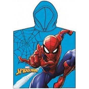 Dětské pončo - plážová osuška s kapucí Spiderman - MARVEL