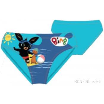 Chlapecké slipové plavky Zajíček Bing Bunny - tyrkysové