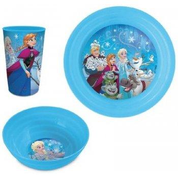 Jídelní sada plastového nádobí pro holky Ledové království - Frozen