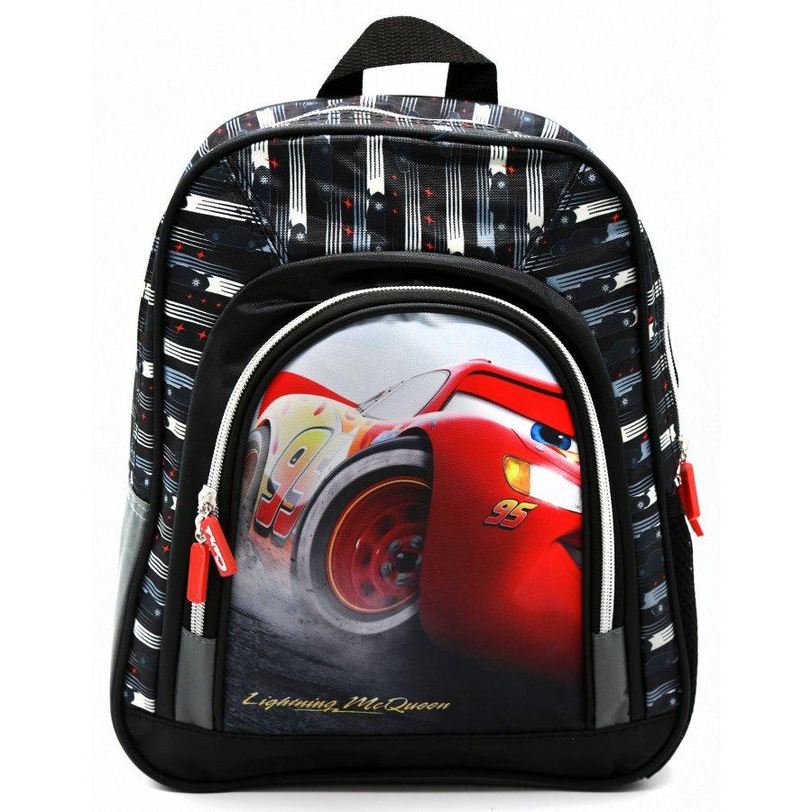 Setino · Dětský předškolní batoh Auta - Cars - Blesk McQueen - 30 x 27 x 11 cm