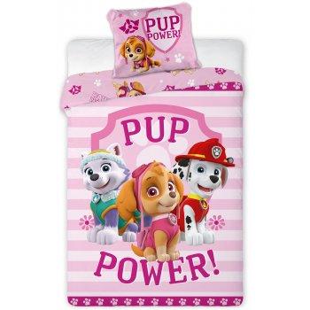 Povlečení do dětské postýlky Tlapková patrola - Pup Power