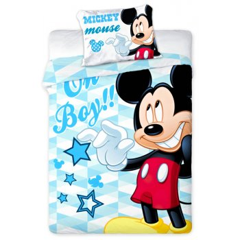 Povlečení do dětské postýlky Mickey Mouse