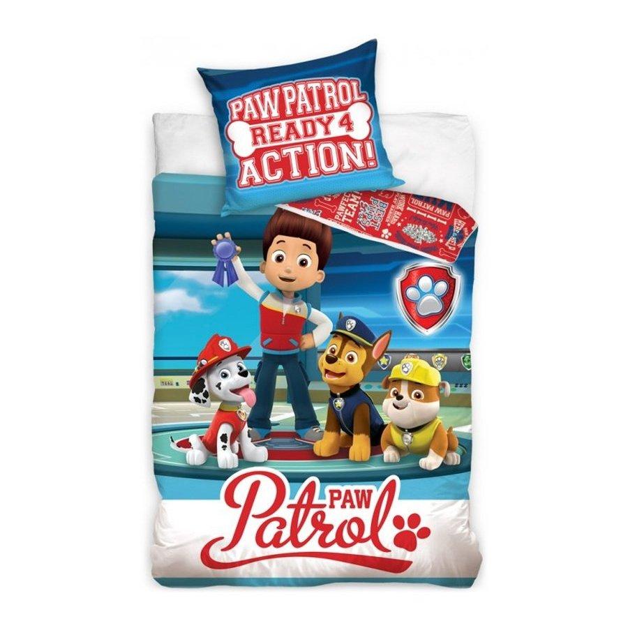 Bavlněné ložní povlečení Tlapková patrola - Ready 4 Action