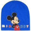 Chlapecká jarní / podzimní čepice Mickey Mouse - sv. modrá