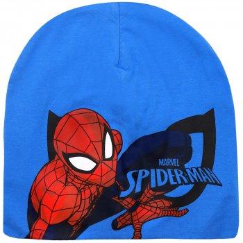 Chlapecká jarní / podzimní čepice Spiderman - sv. modrá